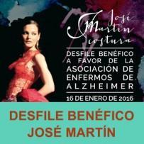 Desfile Benéfico del diseñador de moda José Martín